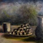 Natura morta olio su tela 35 x 50
