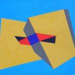Astratto geometrico 40 x 50 acrilico