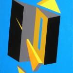 astratto geometrico acrilico 30 x 401