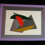 astratto geometrico acrilico 40 x 50