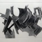 Composizione astratta acquaforte acquatinta 19,6 x 29,3