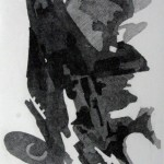 Composizione astratta acquaforte acquatinta - 198 x 292
