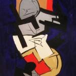 Figura tecnica mista 50 x 70