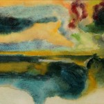 Marasma acquerello 28 x 38 - Marina Velka