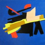 Senza titolo olio su tela 50 x 60