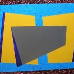 Astratto geometrico acrilico 70 x 100